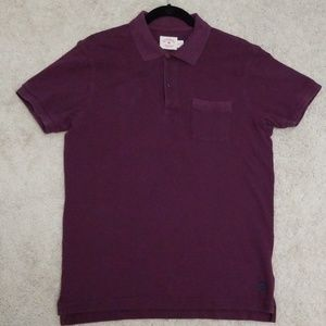 Brooks Brothers Cotton Red Fleece Pocket Polo